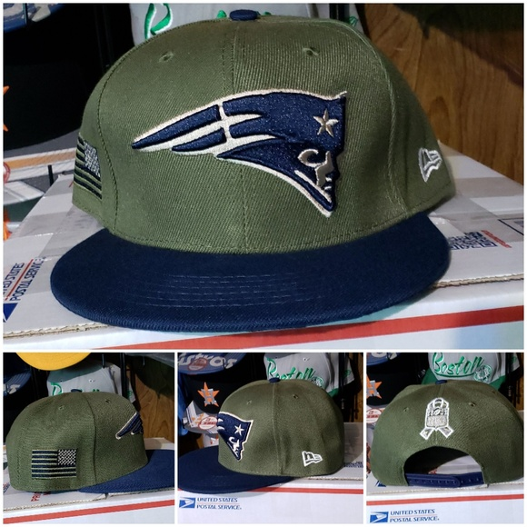 650bdefea69 New England Patriots Salute to Service edition hat